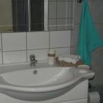bathroom in Hotel San Stefanos, Agios Stefanos Corfu